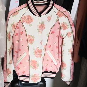 Coach reversible souvenir bomber jacket